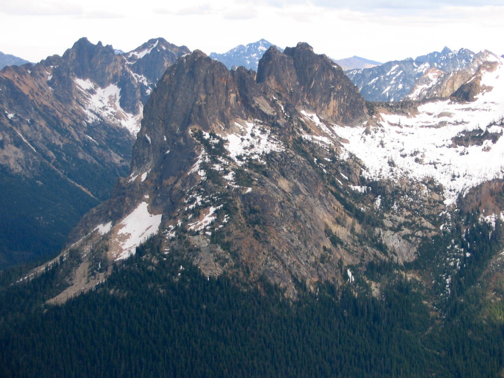South Buttress (Cutthroat Peak)
