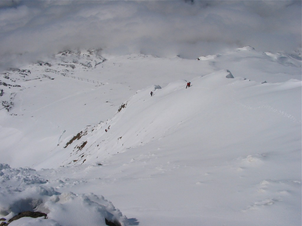 Wy'East, Steel Cliff Gullies (Mount Hood)