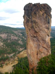 Southwest Face (Steins Pillar)